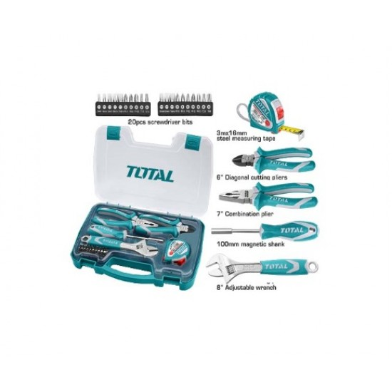 Total THKTHP-90256 25PCS Hand Tools Set  Price in Pakistan