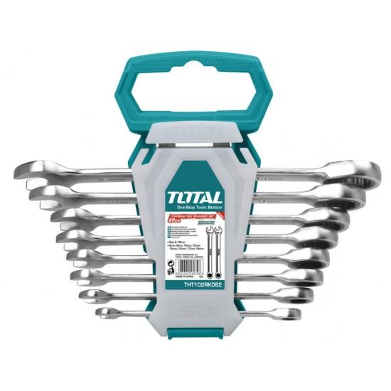 Total THT-102-RK-086 8PCS Ratchet Spanner Set  Price in Pakistan