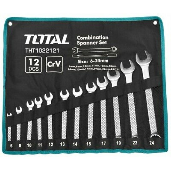 Total THT-1022122 Combination Spanner Set  Price in Pakistan