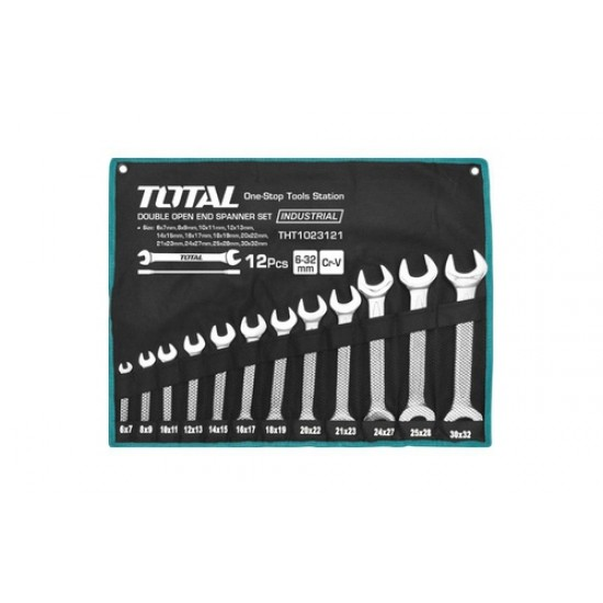 Total THT-1023121 Double Open End Spanner Set  Price in Pakistan
