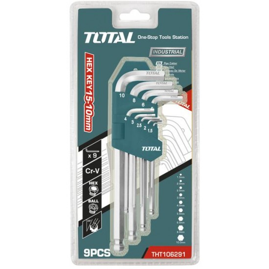 Total THT-106291 Ball Point Hex Key Set  Price in Pakistan