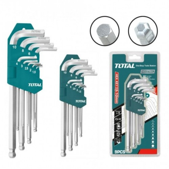 Total THT-106292 Ball Point Hex Key Set  Price in Pakistan