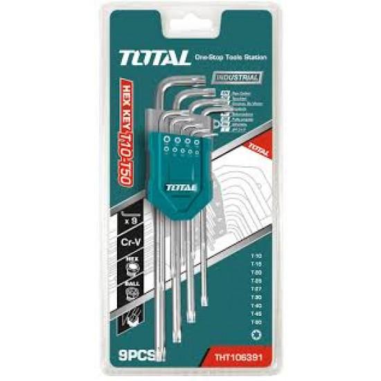 Total THT-106391 Torx Key Set  Price in Pakistan