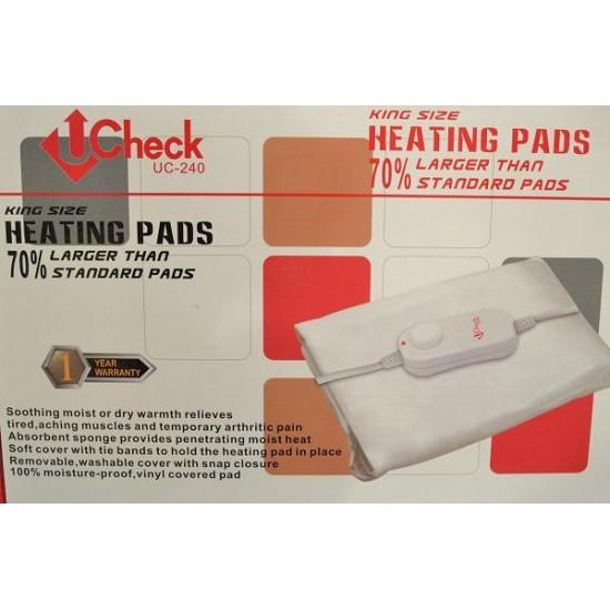 U-Check UC-240 Electric Heating Pad King Size