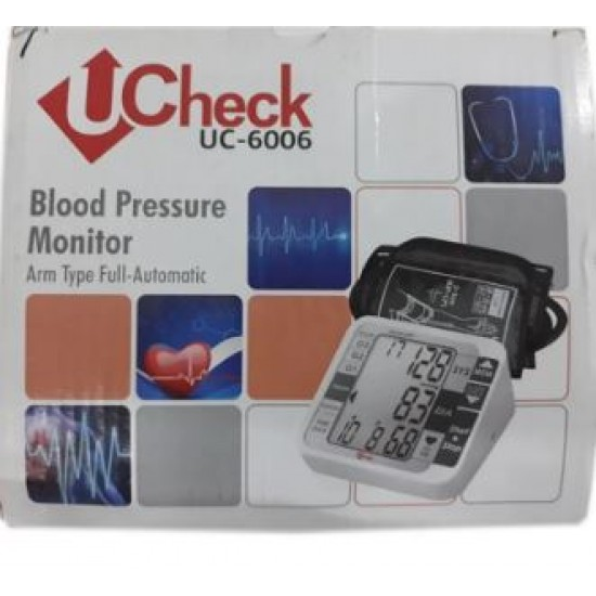 U-Check UC-6006 Digital Blood Pressure Monitor
