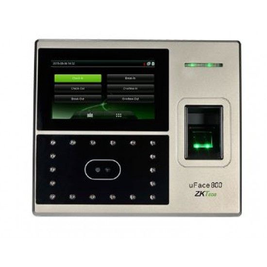 ZKTeco UFace 800 Multi Biometric Attendance Terminal  Price in Pakistan