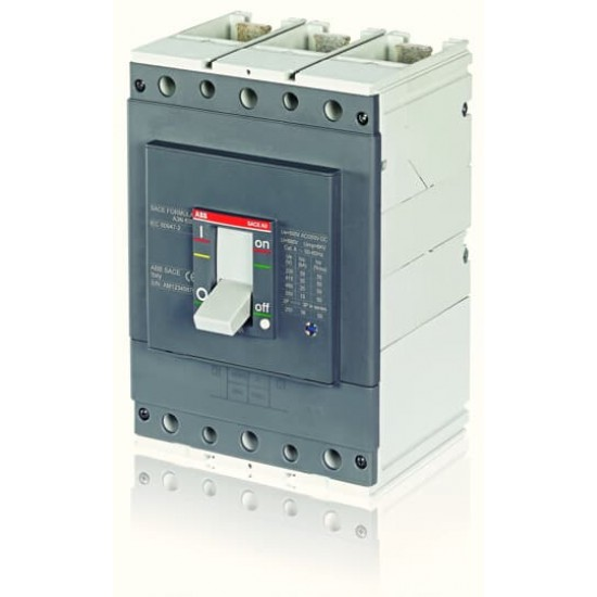ABB A3S 400 Four Pole Moulded Case Circuit Breaker  Price in Pakistan