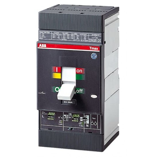 ABB T4H 250 250A Triple Pole 175 ~ 250A Case Circuit Breaker  Price in Pakistan