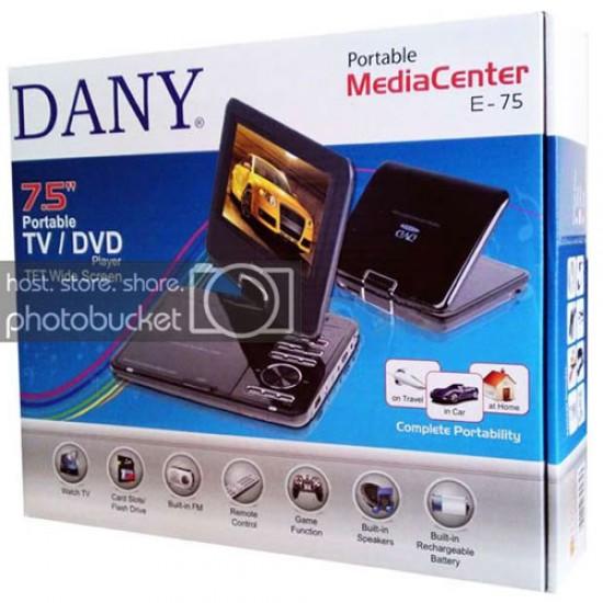"Dany E-75 Portable DVD Player 7.5""  Price in Pakistan"
