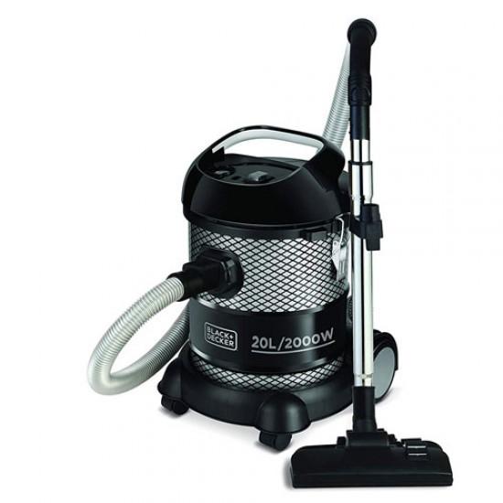 Black & Decker BV2000 Drum Vacuum Cleaner 20 Liter  Price in Pakistan