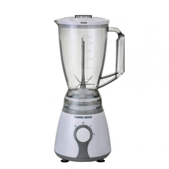 Black & Decker BX275 Blender with Chopper & Grinder - White & Grey  Price in Pakistan