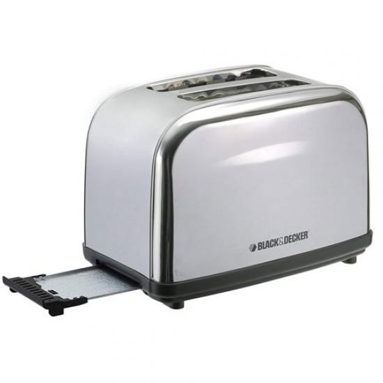 Black & Decker ET222 Stainless Steel Pop-up Toaster  Price in Pakistan