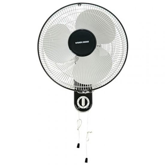 Black & Decker FW1610 Wall Fan Super Oscillation  Price in Pakistan