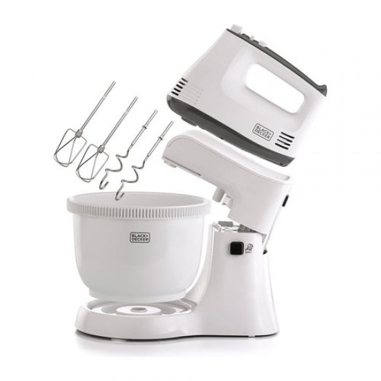 Black & Decker M700 Hand Stand Mixer With Stainless Steel   Price in Pakistan