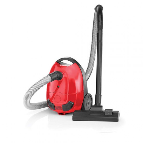 Black & Decker VM1200 Vacuum Cleaner - Red & Black  Price in Pakistan