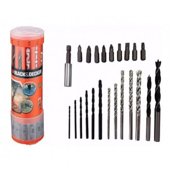 Black & Decker A7102-XJ - Mini Drill Bit Set