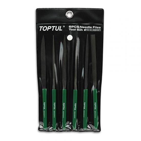 Toptul GNBA0601 - Standard Needle File Set 160mm Length  Price in Pakistan