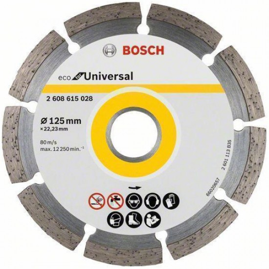 Bosch 2.608.615.028 Diamond Cutting 125mm  Price in Pakistan