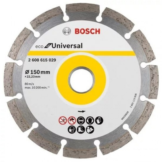 Bosch 2.608.615.029 Diamond Cutting 150MM  Price in Pakistan