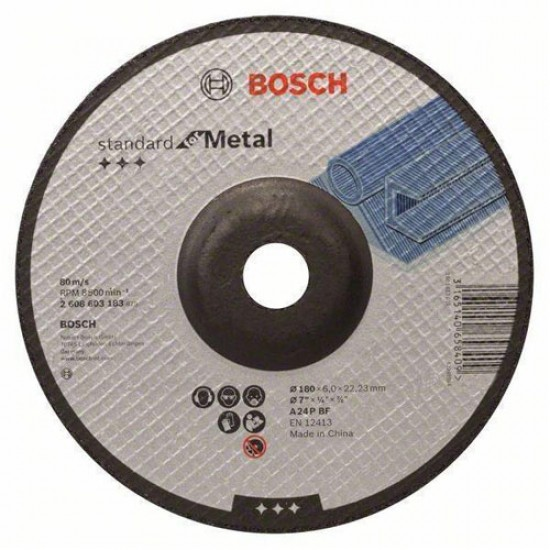 Bosch 2.608.603.183 Standard-Grinding Disc  Price in Pakistan