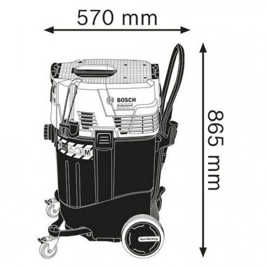 Bosch GAS 55 M AFC Wet/Dry Extractor  Price in Pakistan