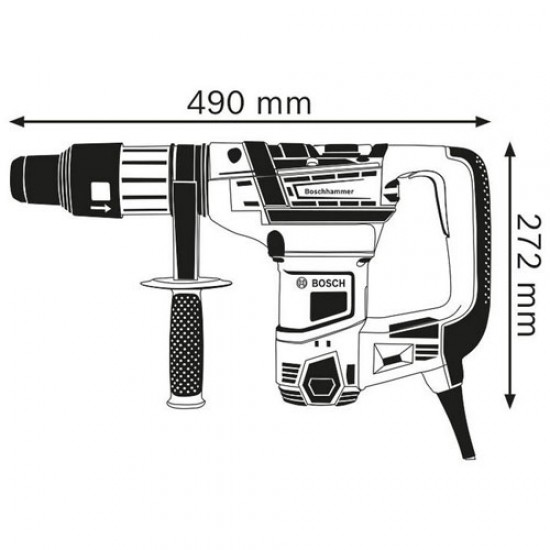 Bosch GBH 5-40 D SDS-Max Rotary Hammer