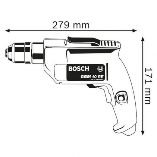 Bosch GBM 10 RE Drill  Price in Pakistan