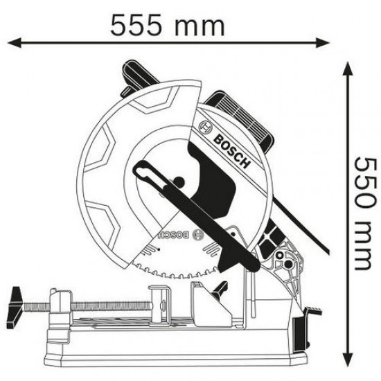 Bosch GCD 12 JL Metal Cut-off Saw  Price in Pakistan