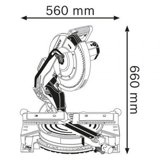 Bosch GCM 12 JL Mitre Saw  Price in Pakistan