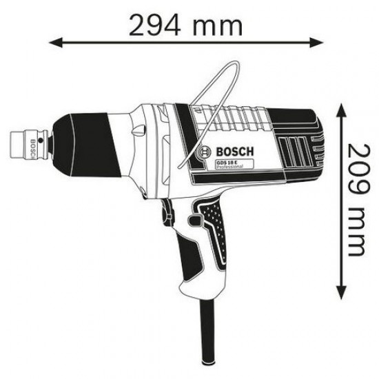 Bosch GDS 18 E Impact Wrench  Price in Pakistan