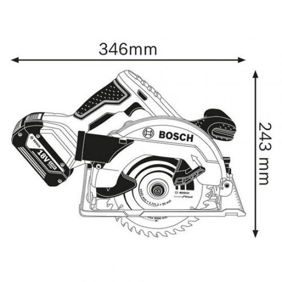 Bosch GKS18V-57 Cordless Circular Saw  Price in Pakistan
