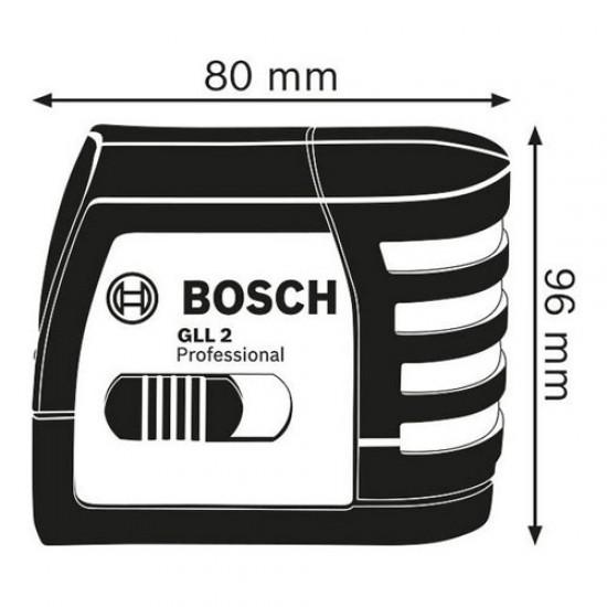 Bosch GLL2 Self-Leveling Cross-Line Laser  Price in Pakistan
