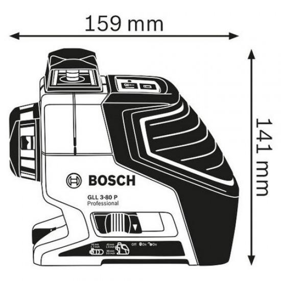 Bosch GLL3-80P Self-Leveling Cross-Line Laser  Price in Pakistan