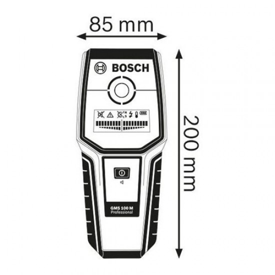 Bosch GMS 100 M Detector  Price in Pakistan