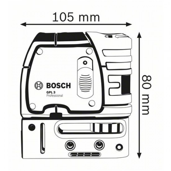 Bosch GPL3 3-Point Self-Leveling Alignment Laser  Price in Pakistan