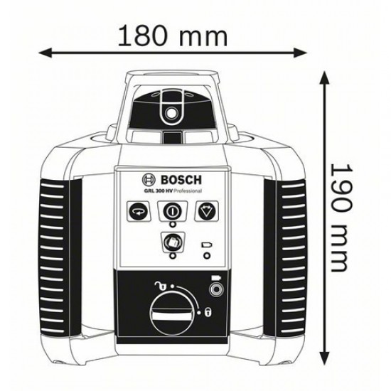 Bosch GRL300HV Self Leveling Rotating Laser  Price in Pakistan