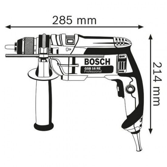 Bosch GSB 16 RE Impact Drill  Price in Pakistan