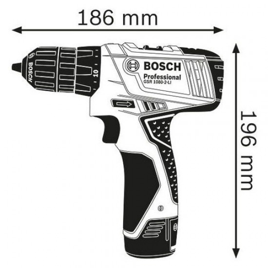 Bosch GSR 1080-2-LI Cordless Drill/Driver  Price in Pakistan
