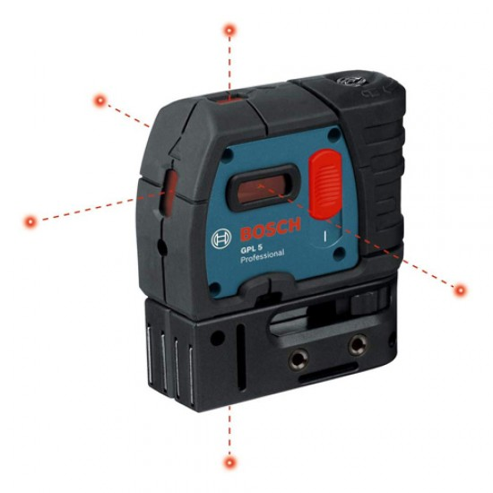 Bosch GPL 5  5-Point Self Leveling Alignment Laser  Price in Pakistan