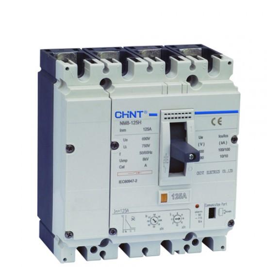 Chint NM8-125 S 3 Pole Adjustable MCCB  Price in Pakistan