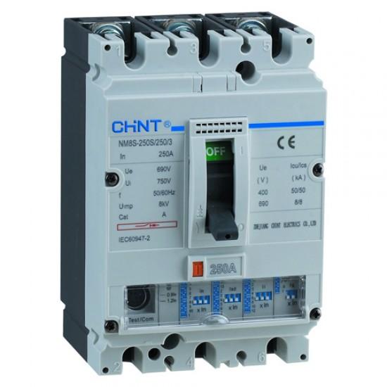 Chint NM8-400 S 3 Pole Adjustable MCCB  Price in Pakistan