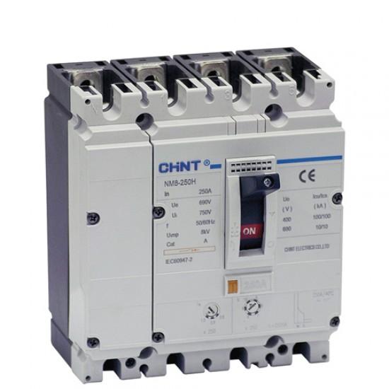 Chint NM8 250 S 4 Pole MCCB  Price in Pakistan