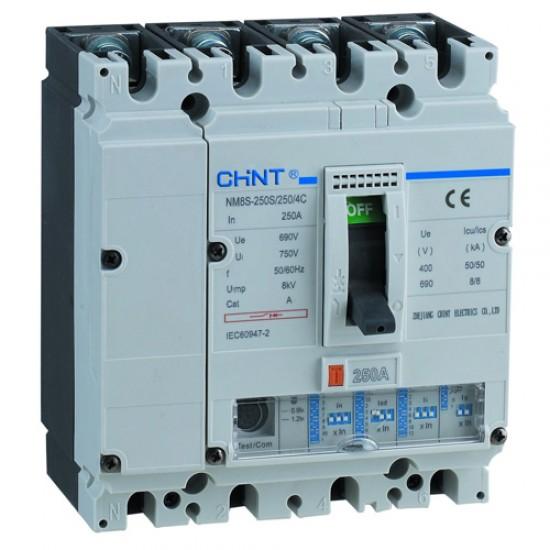 Chint NM8 800 S 4 Pole MCCB  Price in Pakistan