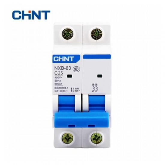 Chint MCB NXB-63 C Double Pole 6 kA Circuit Breaker  Price in Pakistan