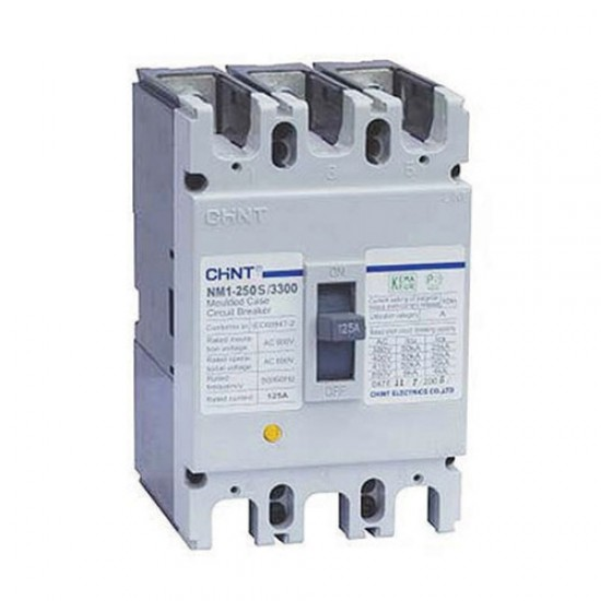 Chint NXM-250S MCCB Fixed Type 3 Pole  Price in Pakistan