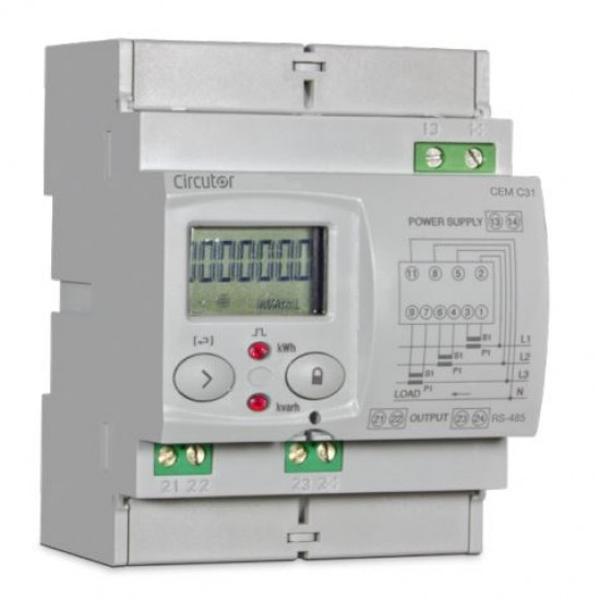Circutor CEM-C31-DS Three Phase Electrical Energy Meter  Price in Pakistan