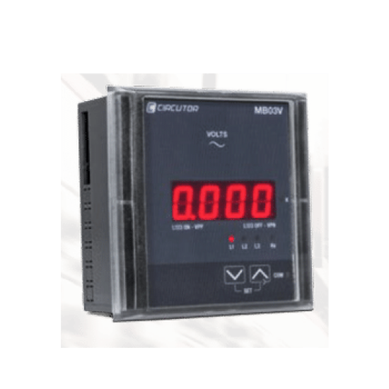 Circutor MB03V Volt Meter Digital Meter For Voltage Measurement  Price in Pakistan
