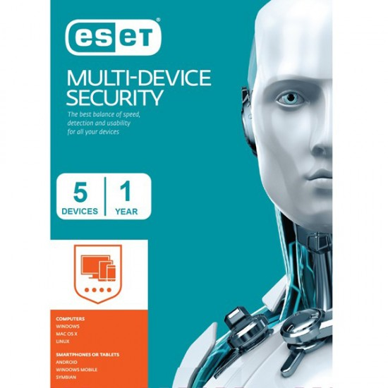 ESET Multi Device Security pack (5 devices)  Price in Pakistan