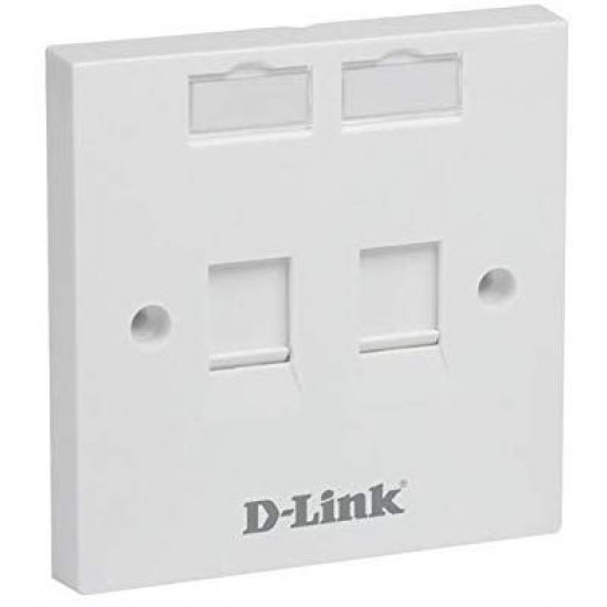 D-Liink NFP-0WHI21 Dual Face Plate  Price in Pakistan