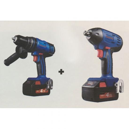 Dongcheng DCKIT05 Cordless Hammer Drill